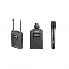 Boya BY-WM8-K4 комплект беспроводной двухканальной радиосистемы с генератором